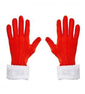 Handschoenen Kerstman Noordpool Met Pluche