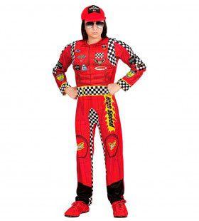Formule 1 Coureur Mcqueen Jongen Kostuum