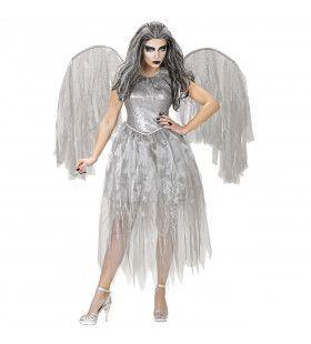 Donkere Engel Argenta Vrouw Kostuum