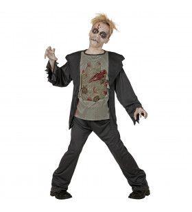 Zombie Pieter Jongen Kostuum