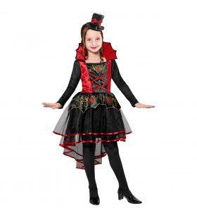Vampier Steamy Meisje Kostuum