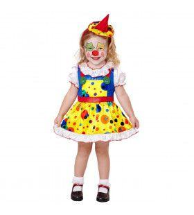 Clown Zoetje Meisje Kostuum