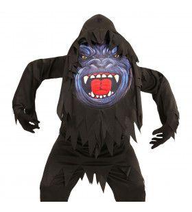 Gorilla Emoji Jongen Kostuum