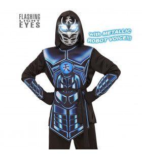 Cyber Ninja Elektro Jongen Kostuum