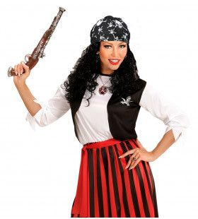 Piraat Hoofddoek Schedel Met Kruisbotten