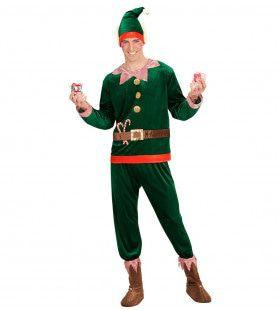 Elfje Van De Kerstman Kostuum