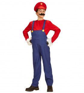 Super Loodgieter Mario Jongen Kostuum
