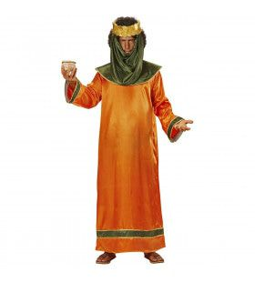 Bijbelse Koning Salomo Man Kostuum