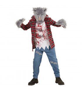 Weerwolf William Jongen Kostuum