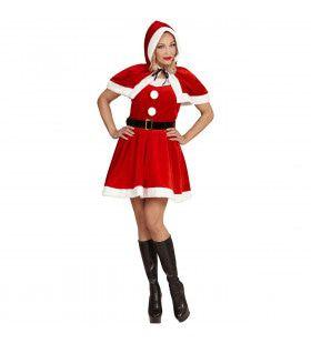Miss Santa Evening Vrouw Kostuum