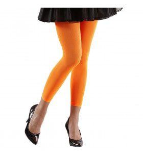 Basis Legging Oranje Vrouw