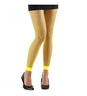 Basis Visnet Legging Geel