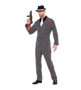 Godfather Van De Drooglegging Man Kostuum