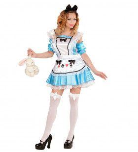 Alice In Sexyland Vrouw Kostuum