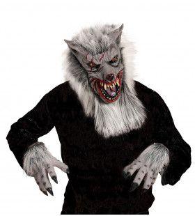 Masker En Klauwen Weerwolf Dolf Met Haar