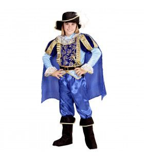 Charmante Musketier Prins Jongen Kostuum