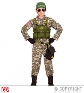 Dessert Navy Seals Jongen Kostuum