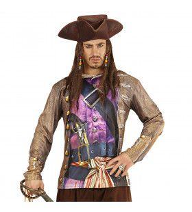 T-Shirt Lange Mouwen Piraat Sint Maarten Man