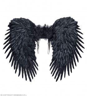 Zwarte Vleugels Duistere Engel 80 X 65 Centimeter