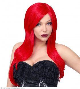 Jessica Rabbit Cosplay Pruik Lang Rood Haar