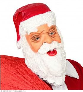 Kerstman Masker Santa