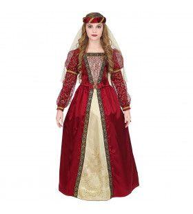 Betoverende Slotvrouwe Prinses Beatrice Meisje Kostuum