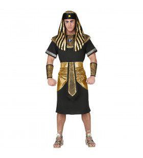 Man Van Het Grote Huis Farao Egypte Kostuum
