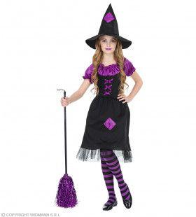 Prinses Van De Duisternis Heks Meisje Kostuum