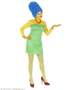 Mevrouw Simpson Cartoon Kostuum