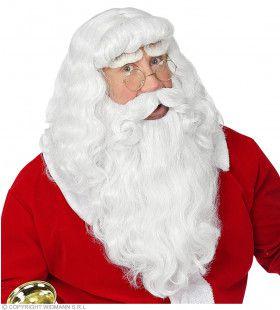 Enige Echte Kerstman Baard, Snor En Pruik