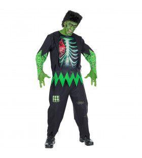 Mislukt Lab Experiment Man Kostuum