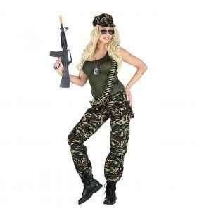 Last Woman Standing Soldate Vrouw Kostuum