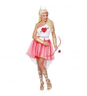 Vrouwelijke Cupido Boogschutter Kostuum