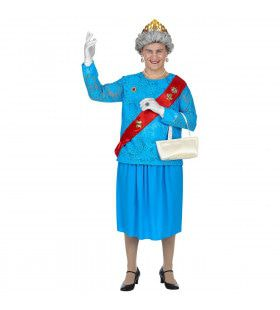 The Queen Koningin Van Engeland Elizabeth Man Kostuum