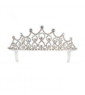 Koninklijke Tiara Strass Steentjes Amalia