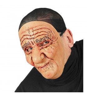 Masker Oude Man Vol Rimpels