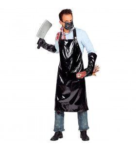 Horror Slager Halloween Hakker Man Kostuum