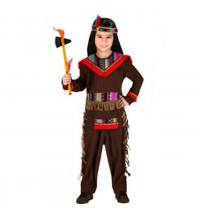 Bijzondere Bizon Prairie Indiaan Kind Kostuum