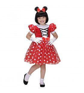 Minnie Vriendinnetje Van Mickey Muis Meisje Kostuum