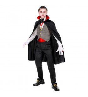 Gave Graaf Dracula Vampier Jongen Kostuum
