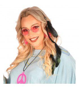 Haarclip Zwarte Veren Hippie Indiaan