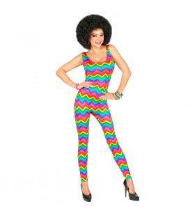 Groovy Jaren 70 Dancing Vrouw Kostuum