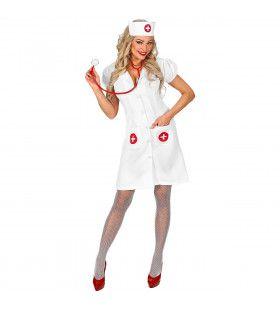 Hospitaal Verpleegster Snelle Pols Vrouw Kostuum