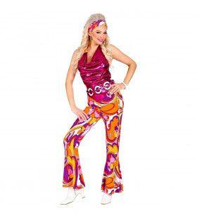 Gloria Disco Jaren 70 Vrouw Kostuum