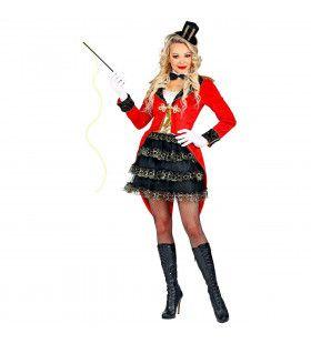 Ringmeester Circus Voorstelling Vrouw Kostuum