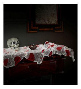 Halloween Tafelkleed Gaas En Bloed 180 Bij 80 Centimeter