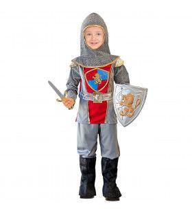 Dappere Ridder Roeland Jongen Kostuum