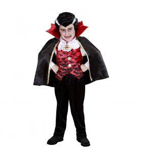 Gemeen Bijtende Vleermuis Vampier Jongen Kostuum