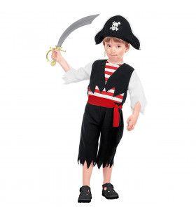 Vechten Op Het Dek Piraat Kind Kostuum