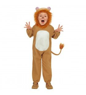 Woest Brullende Leeuw Kind Kostuum